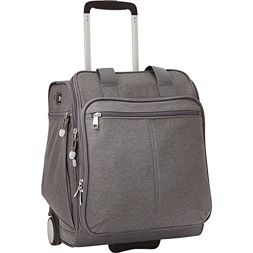 eBags Kalya Underseat Carry-on 2.0 with USB Port (Heathered Graphite)