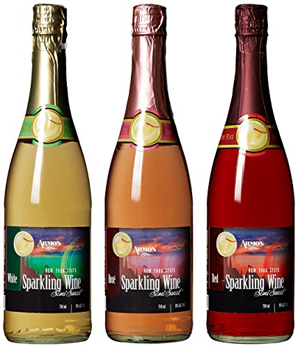 Armon Sparkling Selection Mixed Pack, 3 x 750 mL Wine