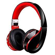 ausdom Bluetooth Kopfhörer ah2s Wireless Headset Portable Stereo Kopfhörer auf dem Ohr