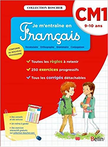 Livre Boscher, je m'entraîne en français CM1 2016 pdf epub