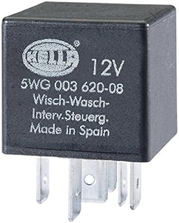 Hella 5wg 003 620 081 Relais Wisch Wasch Intervall 12v Auto