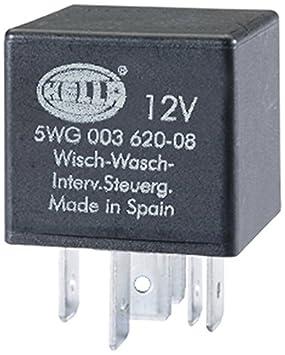HELLA 5WG 003 620-081 Relé, intervalo del limpiaparabrisas, 12V: Amazon.es: Coche y moto