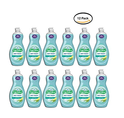 UPC 658448750812, PACK OF 12 - Palmolive Ultra Soft Touch Dish Soap, Aloe and Citrus - 20 fl oz