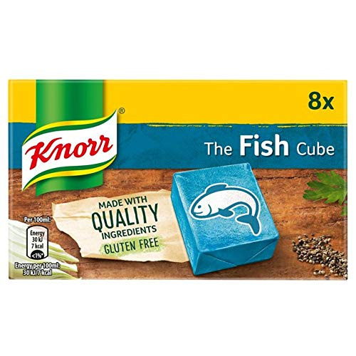 - Knorr Fish Stock Cubes 8 Pack 50g