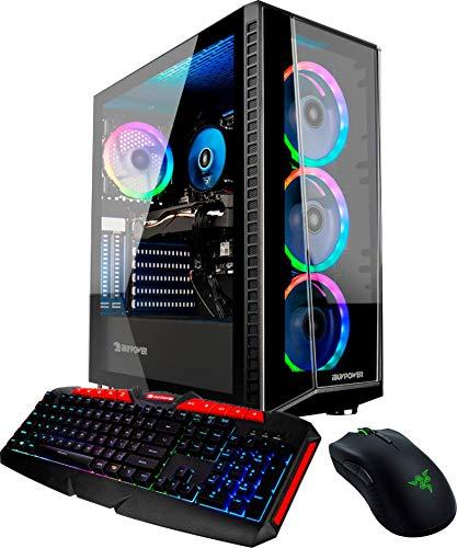 iBUYPOWER BB981 Gaming and Entertainment Desktop (Intel i5-9400F 6-Core, 8GB RAM, 240GB SATA SSD + 1TB HDD (3.5), NVIDIA…