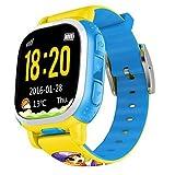 Smart Watches Best Deals - Tencent QQ Watch Kids GPS Locating Wrist Smart Watch Phone (Yellow)