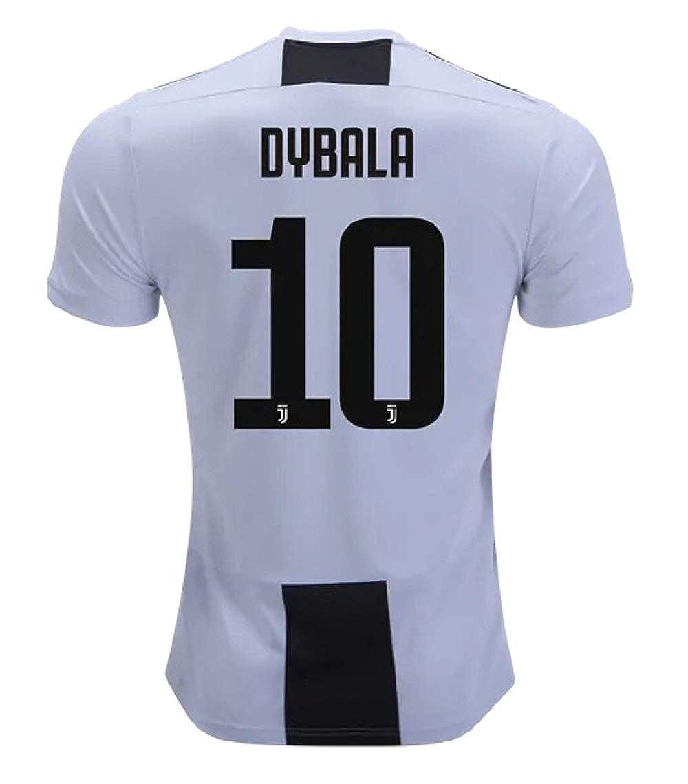 quality design d8f1a 76b5b Amazon.com: Dybala 10 Juventus 18/19 Soccer Jersey Mens Size ...