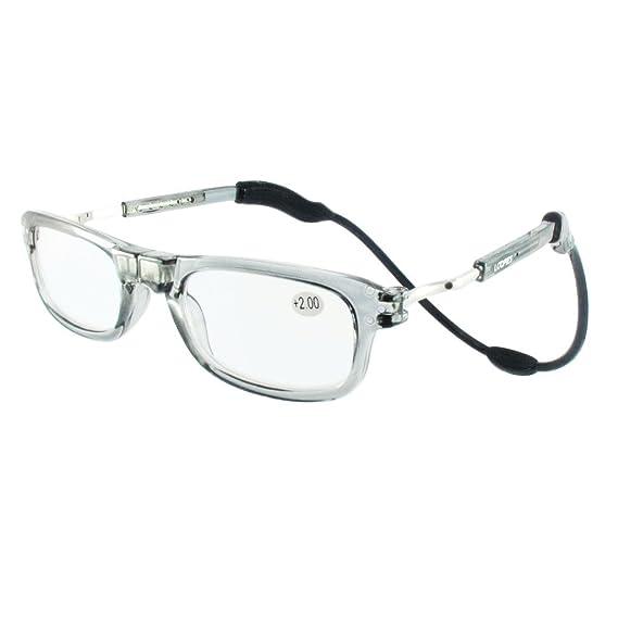 Loopies alta qualità magnetico lettura occhiali con lenti fotocromatiche. Unisex, regolabile, e confortevole