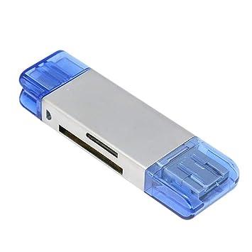 ethic Lector de Tarjetas 5 en 1 Adaptador USB con Función ...