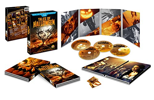 Tales Of Halloween Collector's Edition, Box Set with Soundtrack (Blu-Ray & DVD) (Halloween Boxed Set)