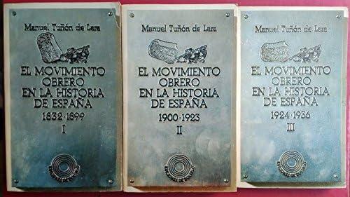 El movimiento obrero en la historia de España Ediciones de bolsillo: Amazon.es: Tuñón de Lara, Manuel: Libros en idiomas extranjeros