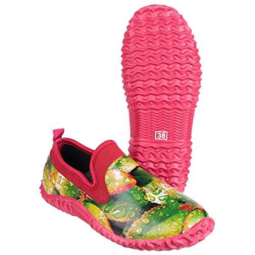 Jardinería Zapatos Goma Damas Zapatos Jardín Cotswold Backdoor Botas Leaf Damas twq47IS