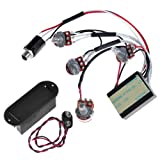 2band Active Guitar&bass Eq Preamp Circuit+9v Pickup Battery Holder Case Cover Buckle