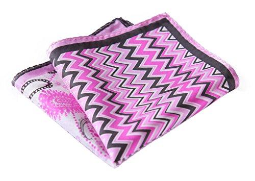 Herringbone Silk Pocket Square - 8