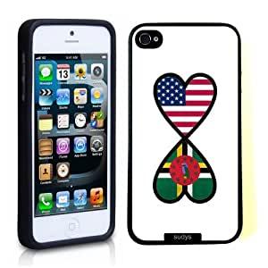 SudysAccessories American Dominican Forever Dominican Flag Infinity Forever Thinshell Case Protective iPhone 5 Case iPhone 5S Case