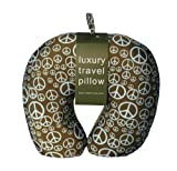 Luxury Travel Pillow - Green Peace