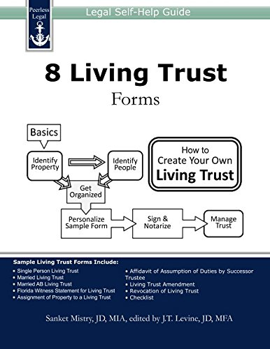 Pdf Law 8 Living Trust Forms: Legal Self-Help Guide