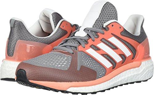 adidas Women's Supernova ST W Running Shoe, Grey Three/White/Chalk ()