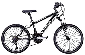 2015 HASA 18 Speed Kids Mountain Bike (SHIMANO) 20 INCH Black