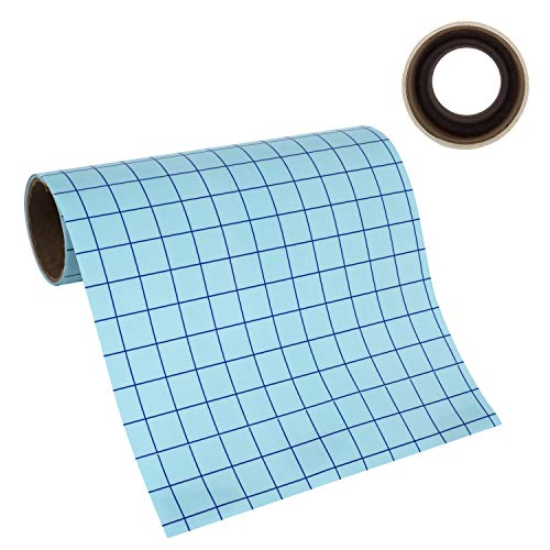 Angel Crafts 12 by 8 CLEAR Transfer Paper Tape Roll w Grid -