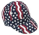 Mutual Industries 00350-00000-7375 Kromer Americana Style Welder Cap 7 3/ 8, Cotton, Length 5'', Width 6''