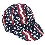 Mutual Industries 00350-00000-0775 Kromer Americana Style Welder Cap 7 3/ 4, Cotton, Length 5″, Width 6″