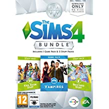 The Sims 4 Bundle Pack 7: Vampires / Kid's Room Stuff / Backyard Stuff (DOWNLOAD CODE IN A BOX) PC