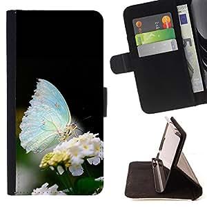 - Butterfly Fly Beautiful Colorful/ Personalizada del estilo del dise???¡Ào de la PU Caso de encargo del cuero del tir????n del soporte d - Cao - For Samsung Galaxy Note 3 III