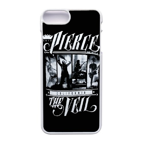 Coque,Apple Coque iphone 7 Plus (5.5 pouce) Case Coque, Generic Pierce The Veil Merch Cover Case Cover for Coque iphone 7 Plus (5.5 pouce) blanc Hard Plastic Phone Case Cover