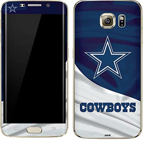 (Skinit Dallas Cowboys Galaxy S7 Edge Skin - Officially Licensed NFL Phone Decal - Ultra Thin, Lightweight Vinyl Decal Protection)