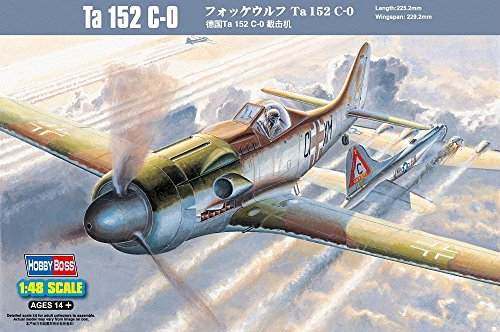 Hobby Boss Ta 152C-0 Fighter Airplane Model Building for sale  Delivered anywhere in USA
