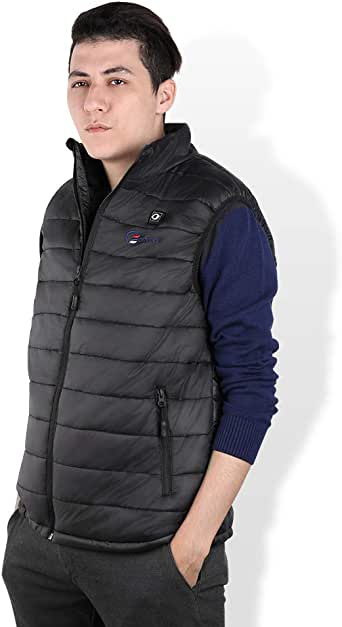 OUTCOOL Men's Heated Vest Light Weight Insulated Heating Vest (Type:NMJ1803)