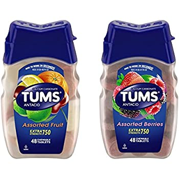 What happens if a year old eats tums