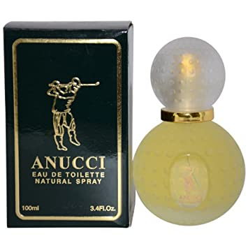 Anucci Eau de Toilette Spray for Men, 3.4 Ounce