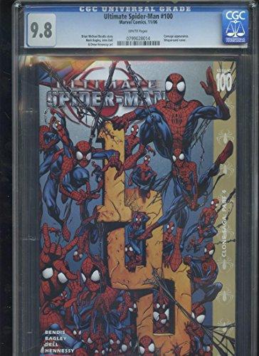 2006 Ultimate Spider-Man Marvel #100 CGC 9.8 Graded Comic Book SpiderMan Carnage