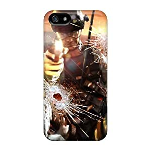 Ultra Slim Fit Hard Dana Lindsey Mendez Case Cover Specially Made For Iphone 5/5s- Rainbow Six Vegas 2