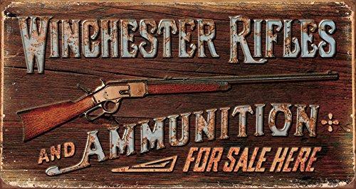 Tin Signs TSN1862-BRK Winchter Rifles & Ammo