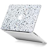 GMYLE Stone Marble Macbook Air 13 inch case Soft-Touch Matte Plastic Scratch Guard Cover for Macbook Air 13 inch (Model: A1369 & A1466)