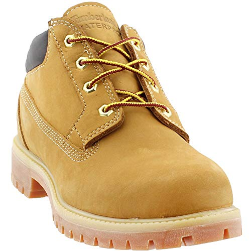 (Timberland Mens Premium Waterproof Oxford Casual Boots Boots Tan 10)