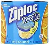 ziploc container twist n loc - Ziploc Twist 'N Loc , Medium Round, Containers & Lids, 2-Count (Pack of 2)