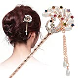 usongs Wild retro hairpin hairpin step shake tassels every day special classical simple hairpin hairpin hairpin child bride dish hair