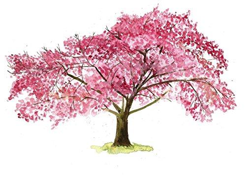 - Cherry blossom wall art #A033. Cherry blossom art print (8x10).Cherry blossom painting.Cherry blossom tree painting.Cherry blossom artwork.Cherry blossom picture.