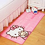 Rug Fashion Hellokitty Cartoon Pink 50150cm For Place bathroom, Parlor, Living Room