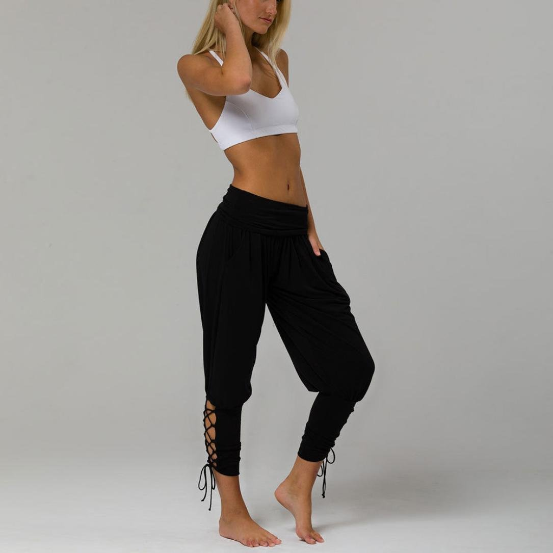 Amazon.com: GoodLock - Leggings de yoga para mujer, con ...