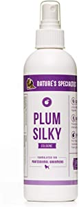 Nature's Specialties Plum Silky Dog Cologne for Pets, Made in USA