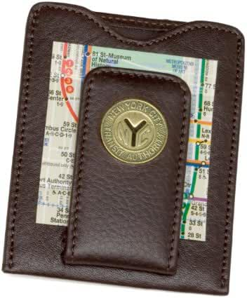 Tokens & Icons NY Transit Token Money Clip Wallet (80N-P)
