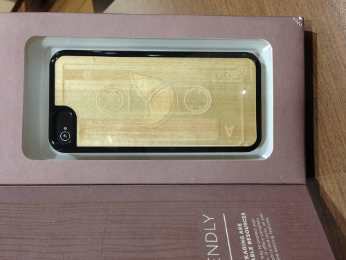 Grass Roots Genuine Wood with Hardshell Case for iPhone 5 iPhone - Grass Case Iphone Roots