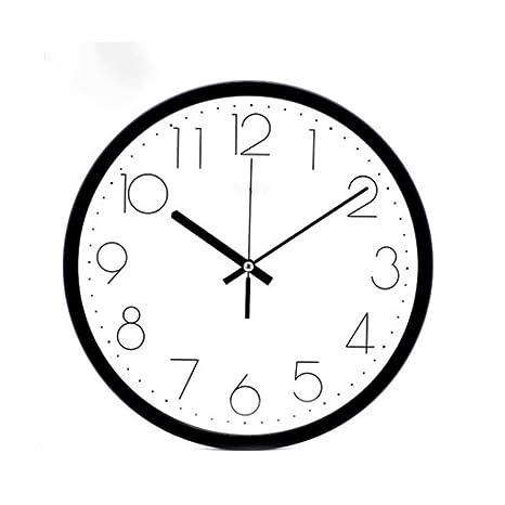 RXL-Tiempo de pared Relojes y Relojes Modernos Relojes Sencillos Relojes de Pared Mezcla Tranquila