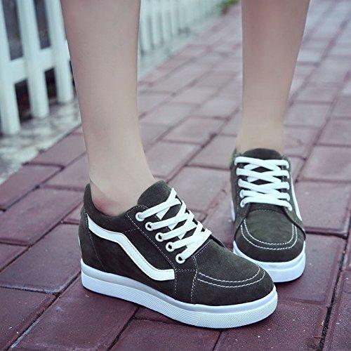 jaspe Los Planos Estudiantes de EUR37 Dentro Mujeres de Las Zapatos de de Delgados Delgados Zapatos Los Plano Cordón Los Zapatos 6ZPUx
