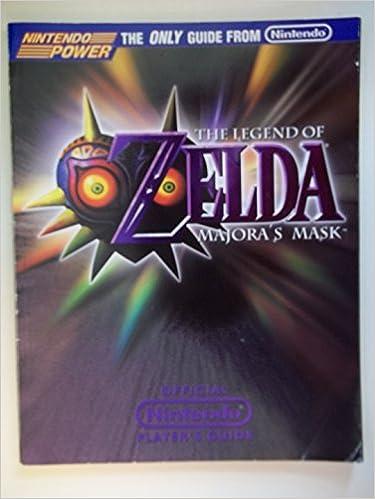 The legend of zelda: majora's mask--official nintendo player's.
